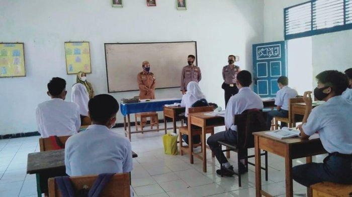 Antisipasi Peredaran Narkoba, Polres Majene Penyuluhan ke Sekolah-sekolah