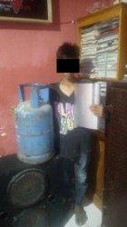 Satreskrim Polres Mamuju Bekuk Pencuri Tabung Gas di BTN Ampi, Begini Kronologisnya