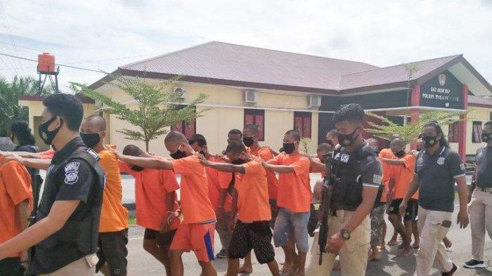 Polres Pasangkayu Ungkap 19 Kasus Kejahatan Selama Ops Pekat 2020, 25 Tersangka Ditangkap
