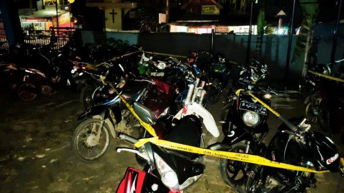 Polisi Bubarkan Aksi Balap Liar di Depan RS Elim dan Lapangan Bakti Rantepao, 14 Motor Diamankan