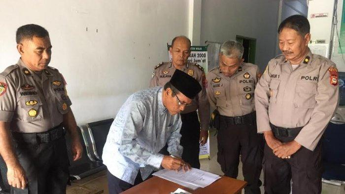 Polres Wajo Serahkan Rp 26.460.000 ke Baznas Kabupaten Wajo