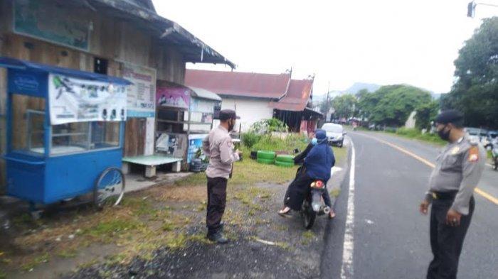 Laksanakan Operasi Yustisi, Polsek Maiwa Enrekang Temukan 6 Orang Langgar Prokes