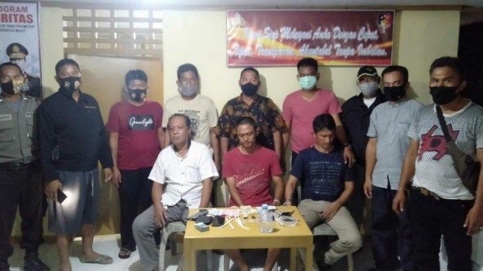Asyik Nyabu, Tiga Bersaudara di Pitumpanua Wajo Diciduk Polisi