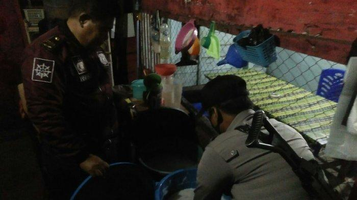 Meresahkan, Polsek Wara Utara Razia Warung Ballo di Jl Rusa Palopo