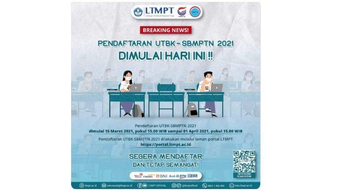 Link portal.ltmpt.ac.id untuk Pendaftaran SBMPTN 2021, Cara Memilih Program Studi