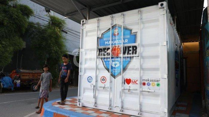 Kontainer Makassar Recover di Kecamatan Tamalate Sudah Beroperasi, Digunakan untuk Kegiatan ini