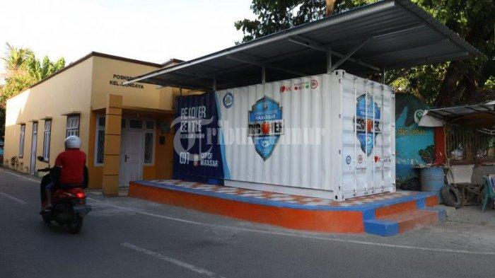Kontainer Makassar Recover Center Belum Rampung, ini Alasan Camat dan Lurah