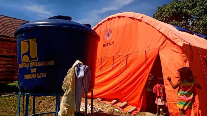 Pengungsi Banjir Wajo Terserang Gatal-gatal