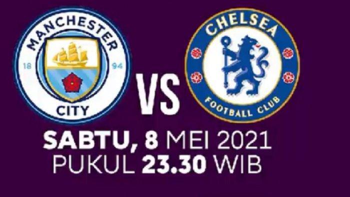 MALAM INI! Link Live Streaming Liga Inggris Manchester City vs Chelsea