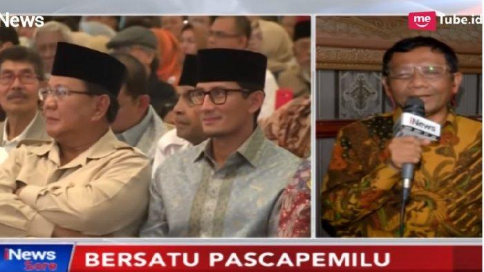 Bukan ke Mahkamah Internasional, Saran Mahfud MD untuk Prabowo jika Ingin Tempuh Langkah Hukum Lain