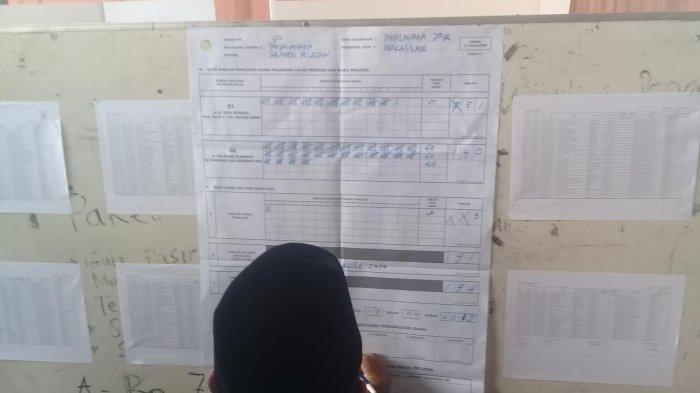 Prabowo-Sandiaga Unggul di TPS Lokasi Nurdin Abdullah Nyoblos