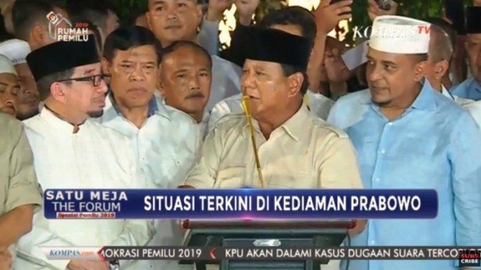 Hari Ini Peserta Pemilu Bisa Gugat Hasil Pemilu 2019,Akankah Kubu Prabowo-Sandi Ajukan Protes ke MK?