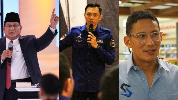 Sejumlah Menteri Galau, Prabowo Subianto Kena Reshuffle, AHY dan Sandiaga Uno Masuk? Istana Menjawab