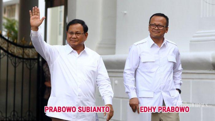 Calon Menteri Jokowi dari Gerindra, Prabowo Subianto dan Edhy Prabowo Saudara? Hubungannya Terungkap
