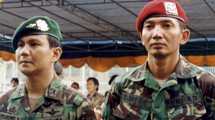 Sosok Sjafrie Sjamsoeddin Penasihat Prabowo, Jenderal Bugis Penodong Senjata ke Pengawal PM Israel