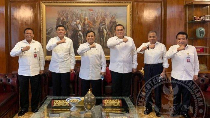 Menhan Prabowo Subianto Dikelilingi Jenderal dari Sulsel, Inikah Alasannya?