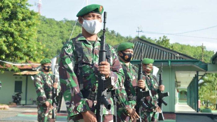 Prajurit Kodim 1402/Polmas Ikuti Kegiatan Minggu Militer, Ini Tujuannya