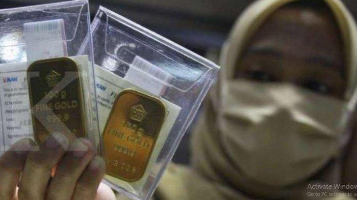 TURUN LAGI, Berikut Rincian Harga Emas Antam 0,5 Gram hingga 1 Kg Hari Ini Rabu 23 Desember 2020