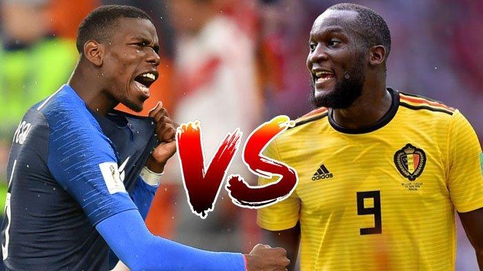 Head To Head dan Prediksi Semifinal Piala Dunia Prancis vs Belgia: Siapa ke Final?