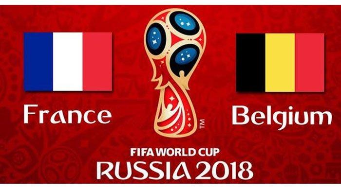 LIVE TRANS TV Semifinal Piala Dunia 2018 Perancis Vs Belgia, Berikut Fakta Kedua Tim Selama di Rusia