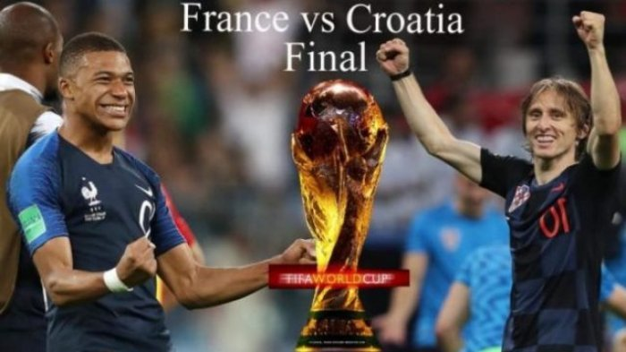LIVE TRANS TV dan Nonton Live Streaming Final Piala Dunia Prancis vs Kroasia di Aplikasi HP Full HD