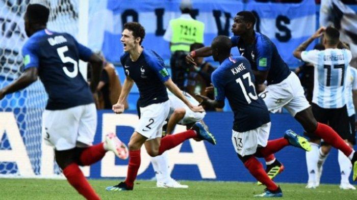 Hasil dan Cuplikan Gol Prancis vs Argentina 4-3: Messi 2 Assist, Julian Mbappe Cemerlang