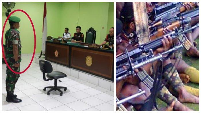 Khianat? Inilah Anggota TNI Kerja Sama Kelompok Separatis di Pupua, Hukuman Diterima Sungguh Berat