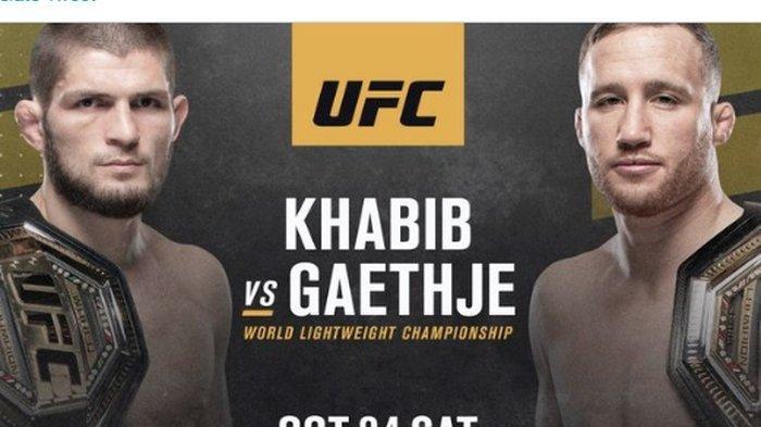 Prediksi Khabib Nurmagomedov vs Justin Gaethje UFC 254, Siapa yang Paling Dijagokan?