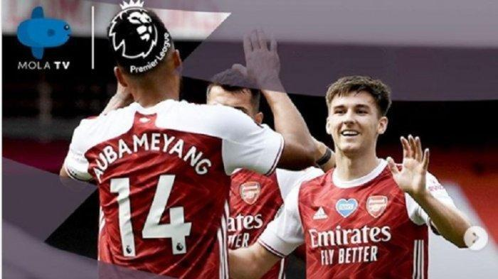 SEDANG BERLANGSUNG Arsenal vs Wolves di Liga Inggris, Akses Link Live Streaming Mola TV di SIni