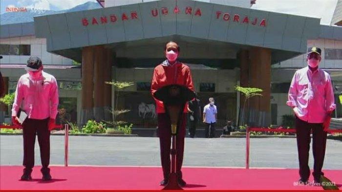 Diresmikan Jokowi, Pemprov Sulsel Ingin Bandara Toraja Layani Rute Jakarta dan Bali