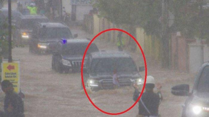 Harga Mobil Presiden Jokowi yang Terjang Banjir di Kalimantan Selatan, Bukan Kendaraan Sembarang