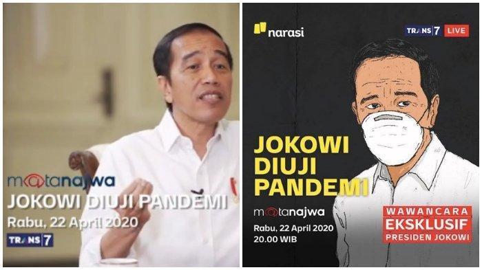 Akhirnya Terbongkar di Mata Najwa Kenapa Jokowi 'Takut' Jakarta Lockdown karena Corona, Anies Tahu?