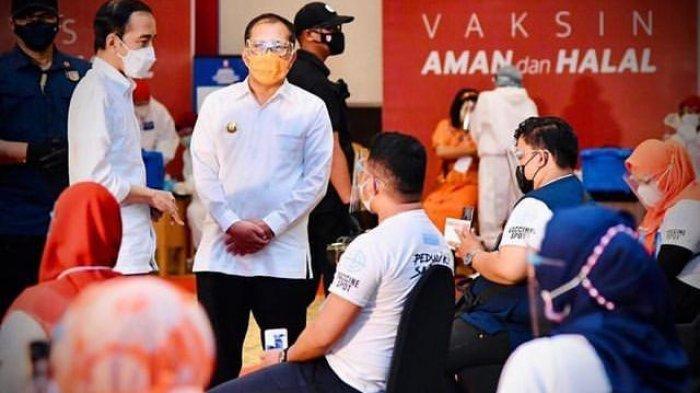 Presiden Jokowi Apresiasi Festival Smart Vaksinasi di Makassar yang Digagas Danny Pomanto