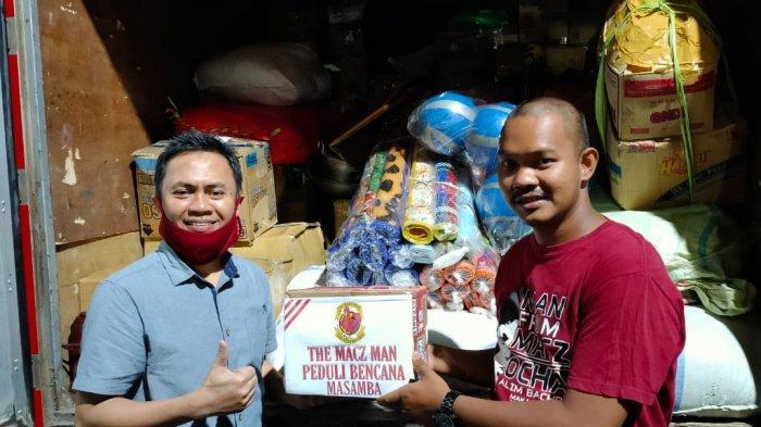 Presiden The Macz Man Indonesia Ocha Alim Kirim 2 Truk Bantuan untuk Korban Banjir Di Masamba