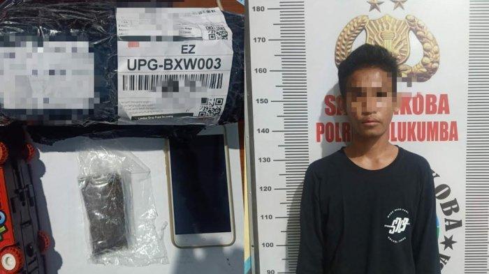 Setelah Terima Paket Jasa Pengiriman, Pemuda Bulukumba Ini Diciduk Polisi