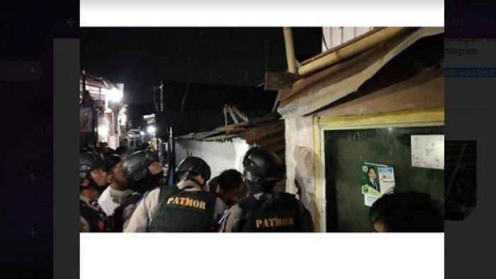 Warga Jl Andi Tonro Makassar Dihebohkan Pria Terjepit di Sela Tembok Rumah