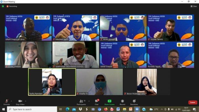 Prodi Sosiologi UNM dan Unram Kolaborasi Penulisan Book Chapter 'Sosiologi Pembangunan Maritim'