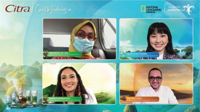 Keindahan Alam Jadi Inspirasi Citra Rilis Rangkaian Cantik Indonesia