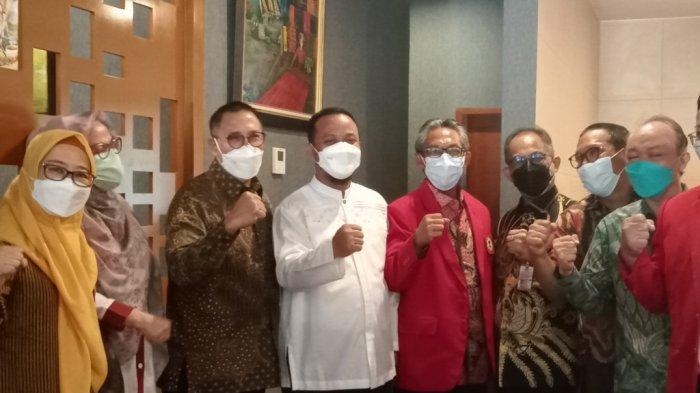 Dirjen Yankes Kementerian Kesehatan Minta Restu ke Plt Gubernur Sulsel