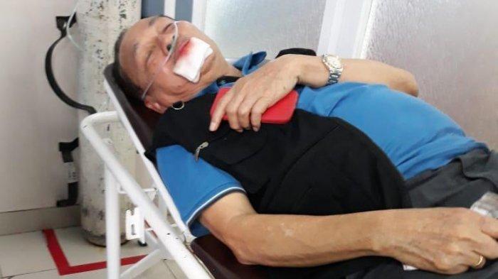 Mantan Rektor Unhas Kecelakaan di Pintu Masuk Bandara Hasanuddin, Begini Kronologinya
