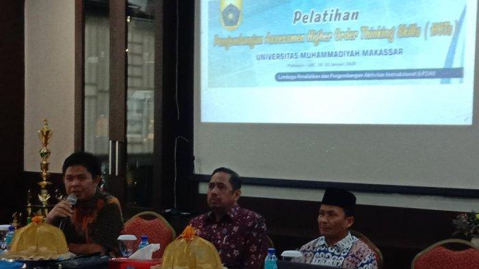 Rektor Unismuh Makassar Membuka Pelatihan Pengembangan Assessment HOTs