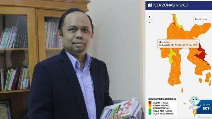 Prof Ridwan Sebut Varian Delta Sudah Masuk di Sulsel, 11 Pasien Terpapar