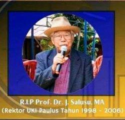 Mantan Rektor UKI Paulus Prof J Salusu Meninggal di Makassar, Besok Dibawa ke Toraja