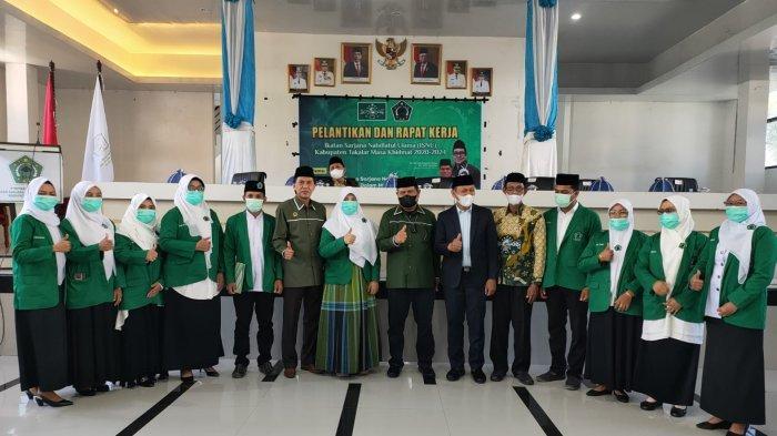Lantik Pengurus ISNU Takalar, Ketua ISNU Sulsel Prof Husain Ajak Kader Sinergi dengan Pemerintah