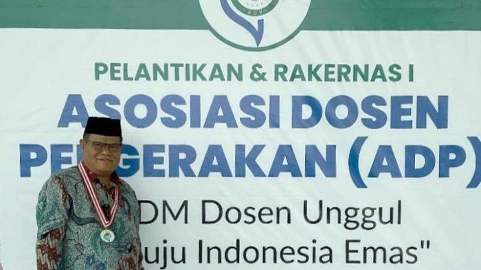 Rektor UNM Prof Husain Syam Jabat Wakil Ketua Umum Asosiasi Dosen Pergerakan