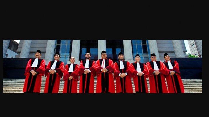 Profil 9 Hakim Mahkamah Konstitusi yang akan Tangani Kasus Sengketa Pilpres 2019 Prabowo-Sandi