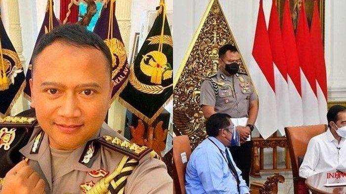 Sosok Kombes Pol Adi Vivid Ajudan Presiden Jokowi yang Viral, Anak Jenderal Bintang 4