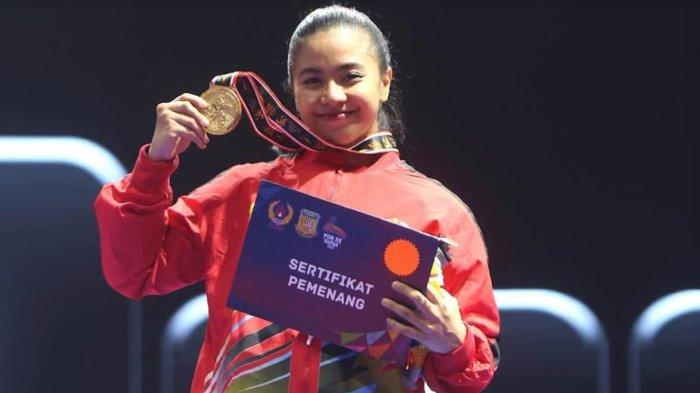 Profil Krisda Putri Aprilia, Karateka Sulsel Penakluk Juara Bertahan PON
