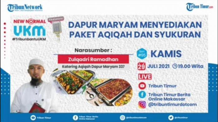 Program Kata None Hadirkan Owner Dapur Maryam 337, Catering Khusus Aqiqah dan Syukuran