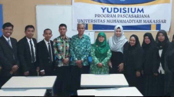 Prodi S2 Pendidikan Dasar Unismuh Makassar Pertama Kali Yudisium 8 Magister